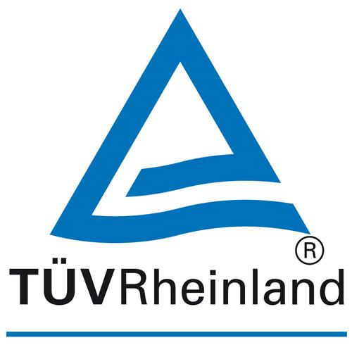 Logo des TÜV Rheinland.